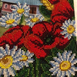 Beaded picture